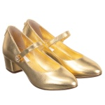 dolce-gabbana-girls-gold-leather-shoes-kids
