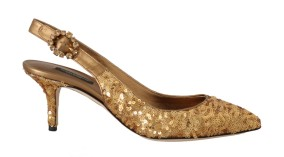Dolce Gabbana -gold-sequined-leather-slingbacks-shoes-2