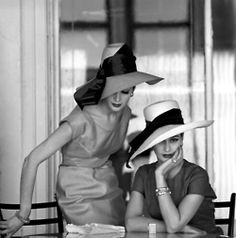 Ladies Who Lunch-vintage-hats-vintage-style