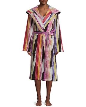 Missoni Home striped velvet bathrobe lingerie Saks Fifth Ave