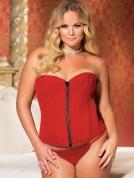 plus-size-velvet-corset_red lingerie