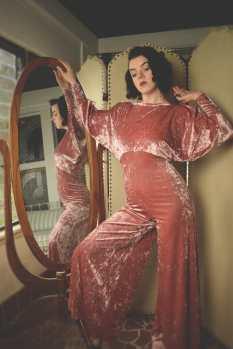 Ulalume Colette Velvet Loungesuit Lingerie