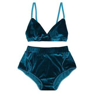 Velvet 2 piece lingerie set Amazon