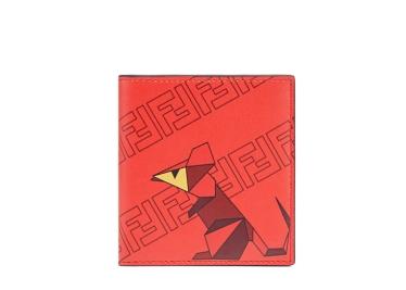 Fendi Bifold Year of the Rat wallet