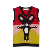 Marni Year of the Rat 2020 cashmere vest