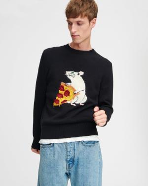 Rag and Bone Pizza Rat sweater 2020 Chinese New Year