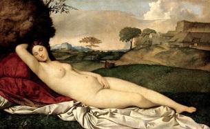 Sleeping Venus by Giorgione (1508)