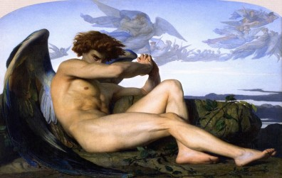 The Fallen Angel by Alexandre Cabanel Lucifer