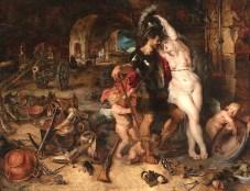 The Return from War - Mars Disarmed by Venus by Peter Paul Rubens and Jan Brueghel the Elder (1610-1612)
