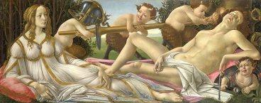 Venus and Mars by Sandro Botticelli (1483)