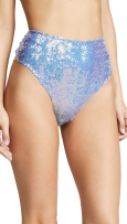 For Love and Lemons Cosmos Sequin High-Waisted Panties