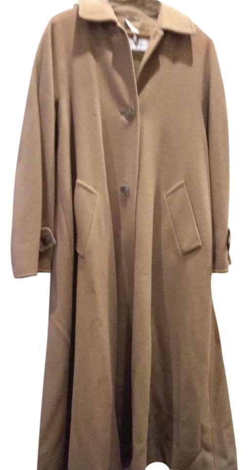 Max Mara Vintage Camel Cashmere Coat