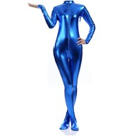 Blue Lycra Zentai Skinsuit