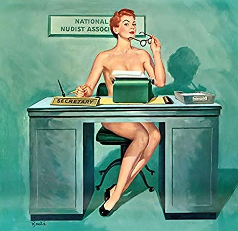 Nudist Secretary