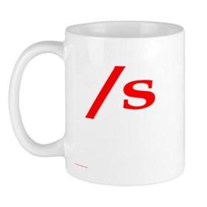 coffee mug submissive symbol