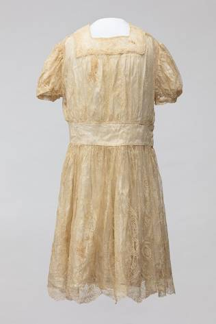 WW2 parachute Communion Dress WWII Museum