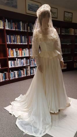 WW2 parachute Wedding dress Williamson