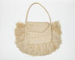 WW2 parachute woven purse from the pacific WWII Museum