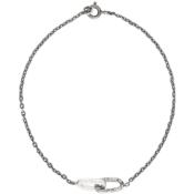 Pearls Before Swine Silver Textured Braclet