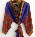 BrothersIndia Etsy Silk Sari fabric kimonoEthnic