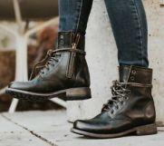 Freebird Manchester Combat Boots