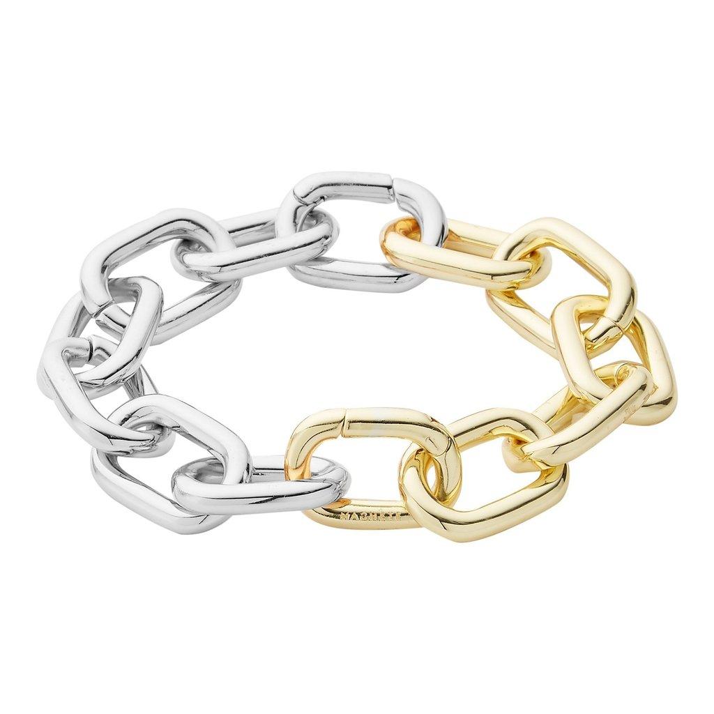 interchangeable-statement-link-anklet-in-14k-gold-silver-split-Machete