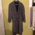 Long Tweed Overcoat 1980's