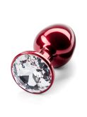 Julian Snelling Red Crystal Buttplug