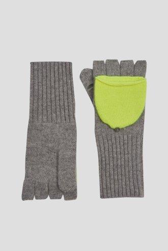Bandier fingerless grey-neonpineapple_0003_flat