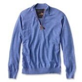 Orvis Merino Wool Zipneck $119 minus $25