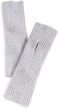 White Warren Grey Cashmere fingerless warmers