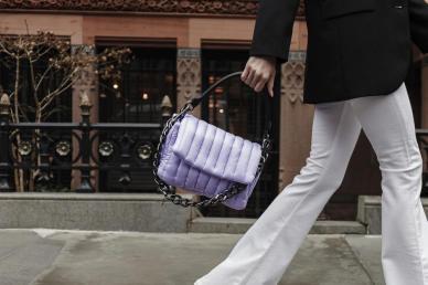 Think Royln Lavender Bag