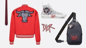 Dior Shawn Stussy Chinese New Year capsule