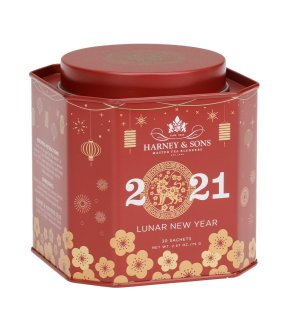 Harney and Sons Fine Tea Tins 2021 Lunar New Year