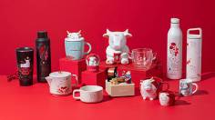 Starbucks Year of the Ox-themed collection Chinese New Year