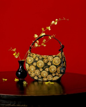 Versace Lunar New Year 2021 Campaign Purse