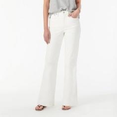J Crew Off-White Jeans