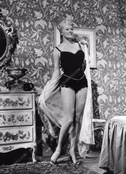 Anita Ekberg lingerie black