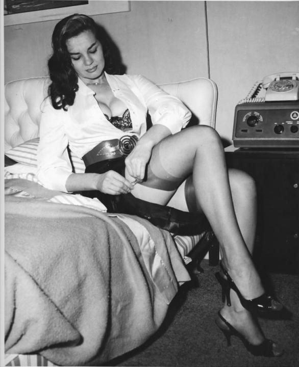 Anita Ekberg Stockings