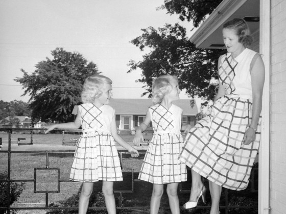 Mother Daughter Matching 1950 2
