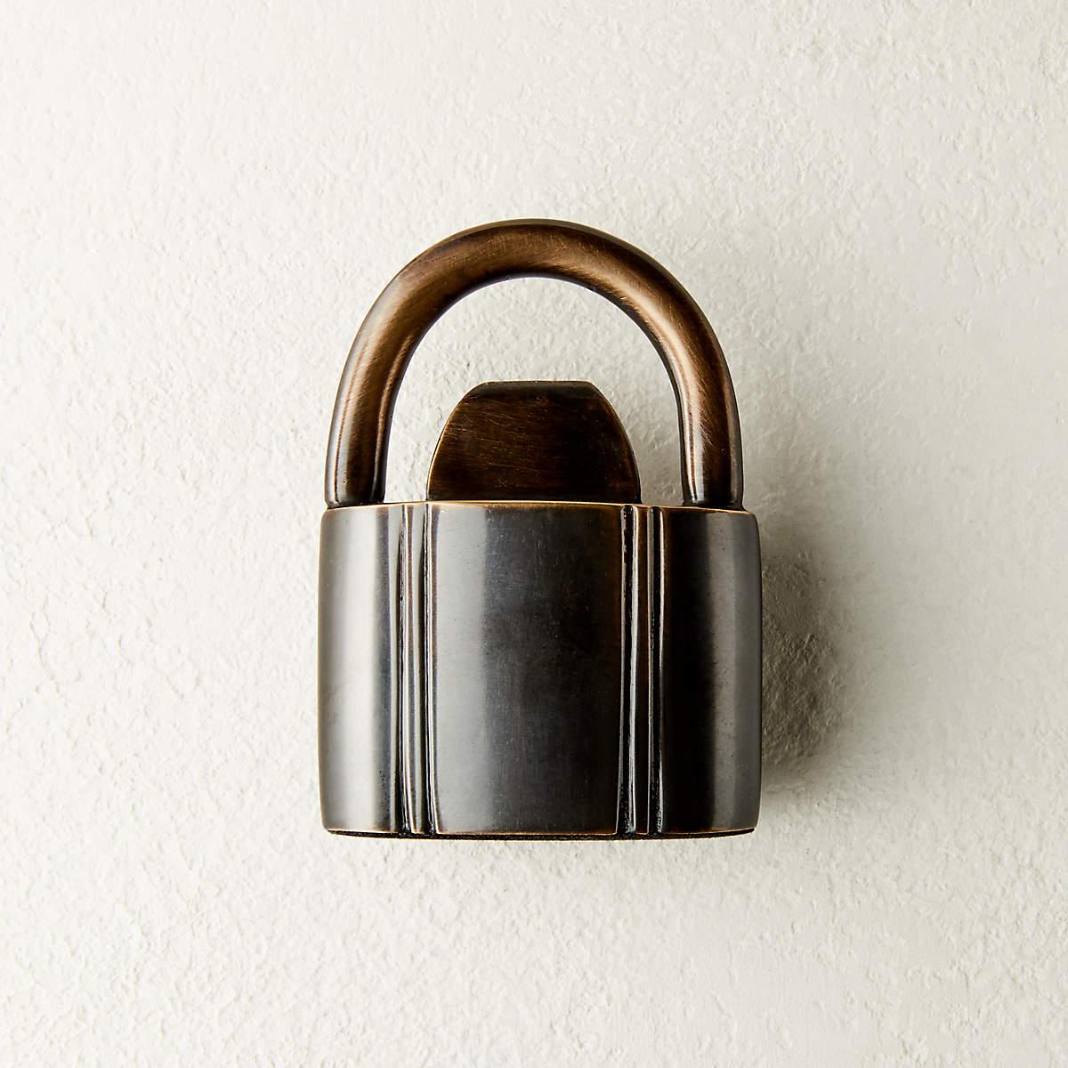 padlock-bronze-bottle-opener