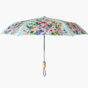 Rifle Paper Co. Unbrella Blue with Pink 2