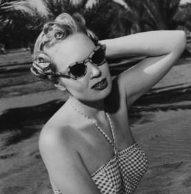 Cat Eye Shirley Buchanan 1955