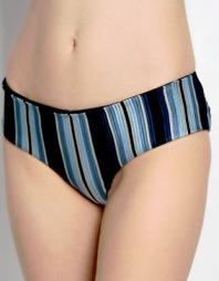 La Perla tulle nervures striped panties