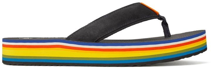 Tory Burch 70's Flip Flops Navy $99