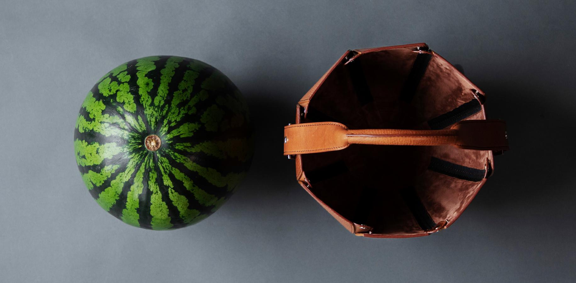 tsuchiya-kaban-2 watermelon tote