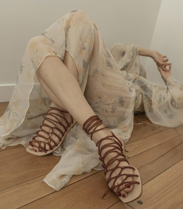 Daniella Sheve; Vegan Zinzi model