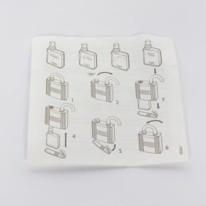 Herme's Refillabel Fragrance Bottle sprayer Booklet