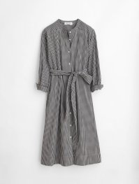 Alex Mills Gracie Gingham Shirt Dress