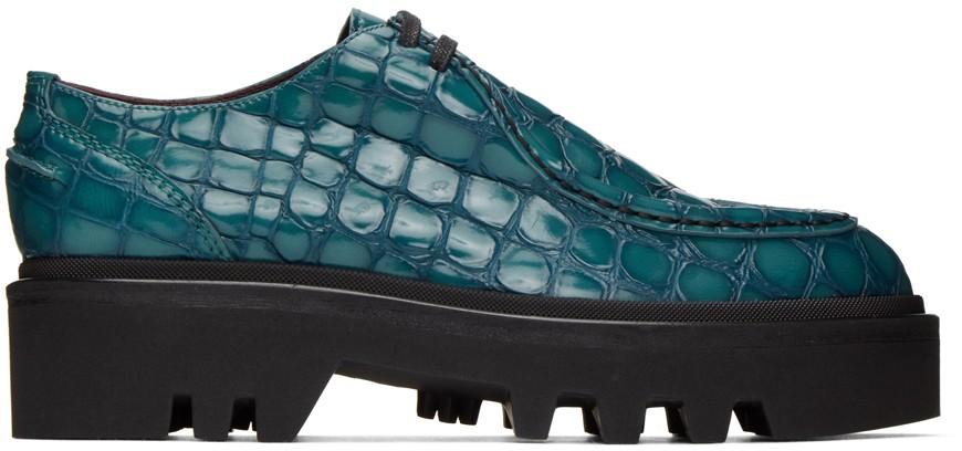 dries-van-noten-blue-croc-derbys